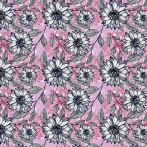 Spring Blooms - Peach Hero- Lilac