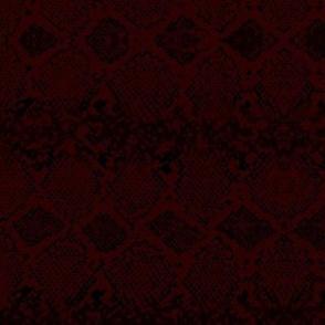 Snake skin abstract boho texture animal skin wild jungle design burgundy red black