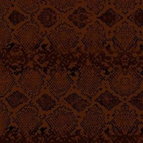 Snake skin abstract boho texture animal skin wild jungle design rust sienna black