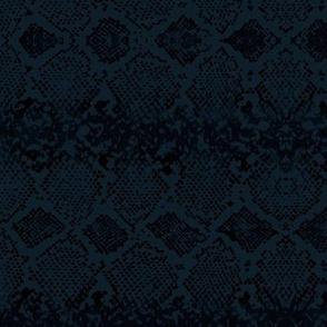Snake skin abstract boho texture animal skin wild jungle design navy blue black