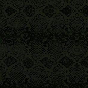Snake skin abstract boho texture animal skin wild jungle design moody green black