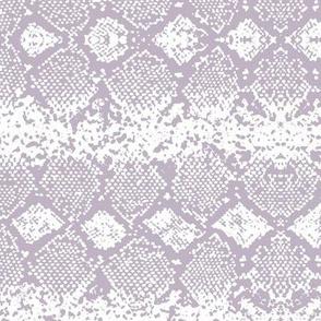 Snake skin abstract boho texture animal skin wild jungle design lilac purple white