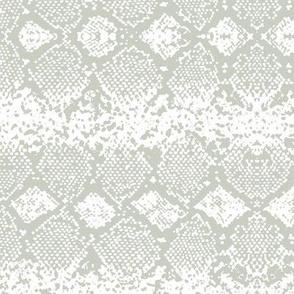 Snake skin abstract boho texture animal skin wild jungle design mist green on white