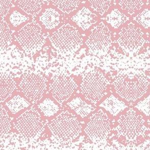 Snake skin abstract boho texture animal skin wild jungle design pink on white