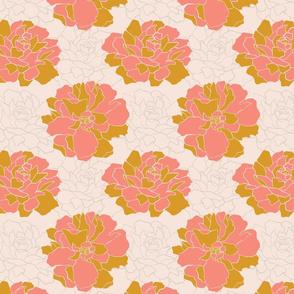 Large Pink Blooms