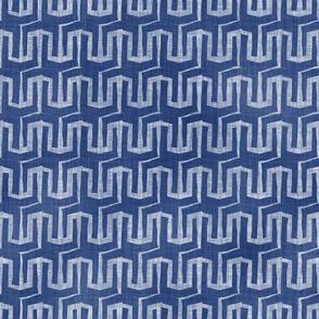 Trident Geometric Blue