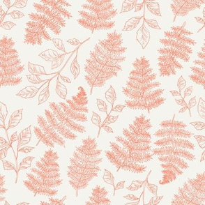 Botanical Ferns Pink