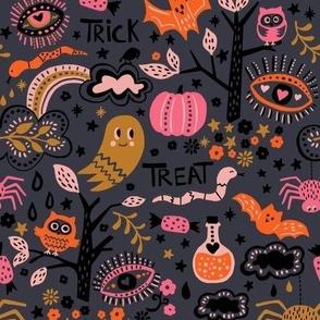Halloween dark background