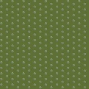Peas on green