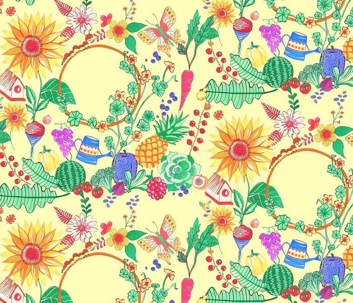 The Garden Mosaic