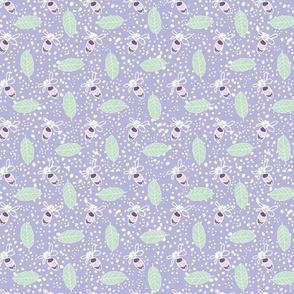 Preppy Stripes - Pink, Sage and Lavender