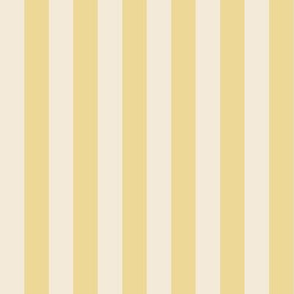 Yellow and Cream Stripes