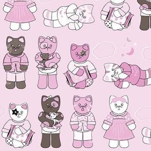 Cats Pajamas Pink