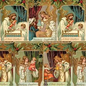 Vintage Gilded Angels