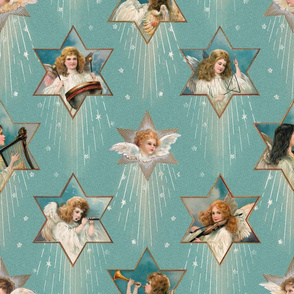 Vintage Star Angels