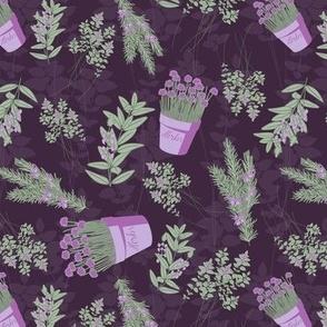 Herbs Purple