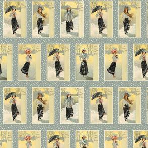 Victorian Winter Ladies