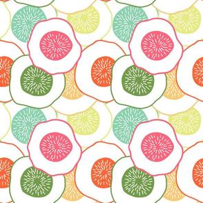 Cut Flower Garden Citrus Mix
