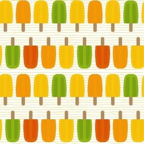Popsicles on mint