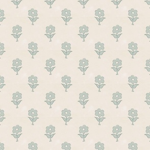 vintage inspired bespoke floral blue farmhouse style cottage core classic floral terriconraddesigns