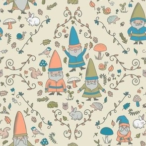 Woodland Gnomes & Friends, Taupe
