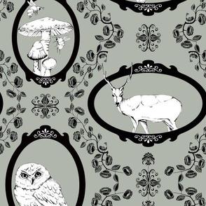 Woodland Enchantment - Silver Haze