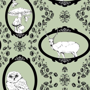 Woodland Enchantment - Sage