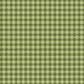 green houndstooth small