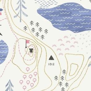 Adventure Hiking Map