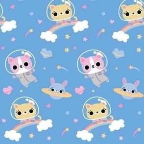 Space Pets Pastel