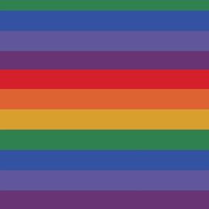Rainbow Pride Stripe