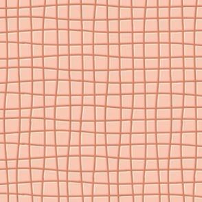 Pink and brown checks-nanditasingh