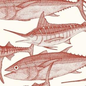 Atlantic fish paprika