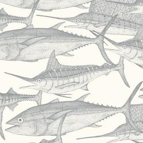 Atlantic fish silver small