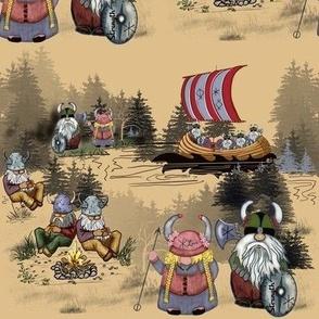 Tribal Viking Gnomes