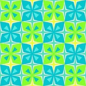 Tiki Toon Tiles Swimming in Sunshine