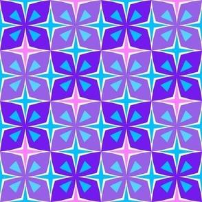 Tiki Toon Tiles Purple Passion