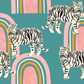 Tigers and rainbows
