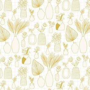 Vases Cream