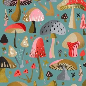 Mushroom Collection – Mint