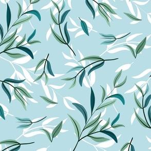 tea tree leaves aqua