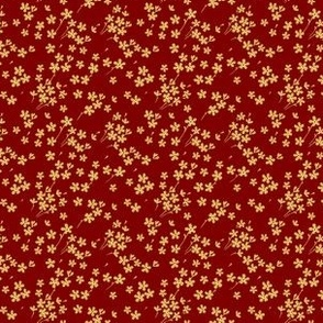 Quilting Small Floral Pattern