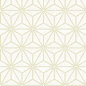 Shibori Stars Gold Texture