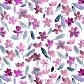 Fandango watercolor pretty little flowers for summer vibes a365-3