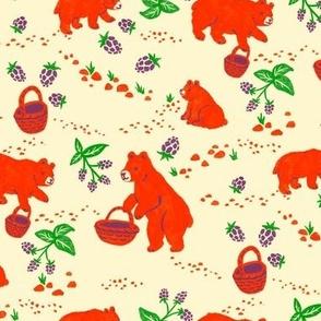 Bears, Berries, Baskets