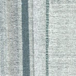 Linen Stripes Woven Texture Imitation Gray Green