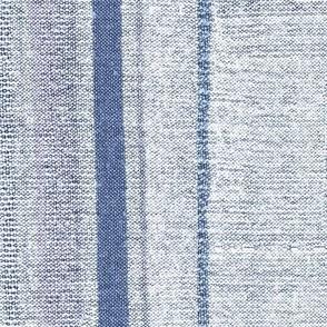 Linen Stripes Woven Texture Imitation Blue