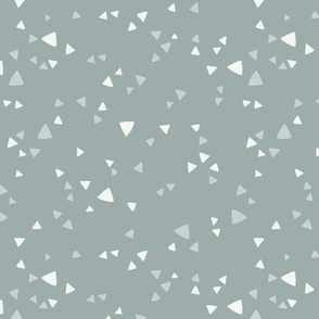 Simple Triangles Gray