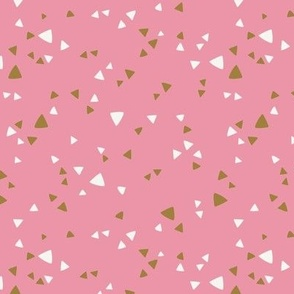 Simple Triangles Pink