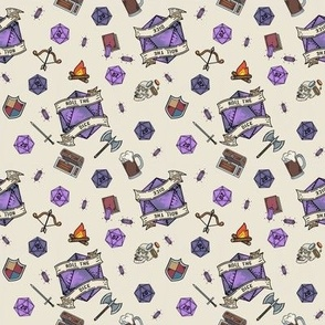 Purple Roll the Dice